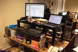doug's desk
